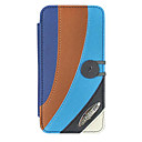 Exotic Atmosphere PU Leather Full Body Case with Microfiber Flocking inside for iPhone 5/5S
