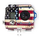 American Flag Case Sticker for GOPRO HD Hero 3 Housing