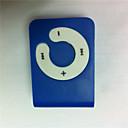 Mini Clip Plug-in Micro SD & TF Karten Leser MP3 Player (Blau)