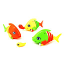 Wind-up Simulation Big Fish Swallowing Little Fish Game Set(1 Pair,Random Colors)