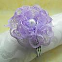 Pink / Purple Acrylic Napkin Ring