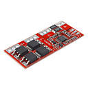 3 Series Lithium Ochrana baterie Board - Red (30A)