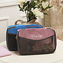 26x18cm Portable Multi-Layer Storage Bag (Random Color)