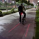 Buy Bike Lights / Rear Light LED Laser Cycling Waterproof Warning Strike Bezel Lumens BatteryCamping/Hiking/Caving Everyday Use