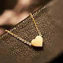 Buy Sweet (Heart-shaped Pendant) Gold Alloy Pendant Necklaces (1 Pc)