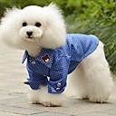 Summer Cotton T-Shirt for Dogs Blue XS / M / XL / S / L / XXL