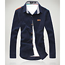Men's Korean Casual Solid Color Shirt