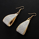 European Style Arc-shaped Drop Alloy Earrings(Gold,Silver)(1 Pair)