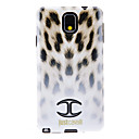 Gradient Ramp White Leopard Ski Pattern Soft Anti-Shock Back Case Cover for Samsung Galaxy Note3 N9000