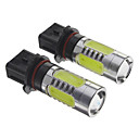 P13W 3.5W 300-350Lm 3*1.5Wcob Car Bulbs-White(12V)