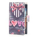 Heart Shape Gift Box Leather Case with Card Slot and Stand for LG L5/E610/E612