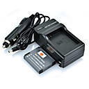 DSTE Full Coded 3.7V 1300mAh Li-ion Battery & US Plug Charger & Car Charger for GoPro Hero3 Camera