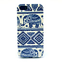Special Design Elephant Pattern Back Case for iPhone 5/5S