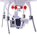 HJ 2-Axis Gopro 1/2/3 Brushless cardano PTZ w/BGC3.1 controller 2-Axis for Multicopter FPV in bianco