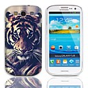Tiger Eyeing Design Hard Case with 3-Pack Screen Protectors for Samsung Galaxy S3 I9300