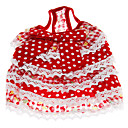 Dog Dresses - XS / S / M / L / XL / XXL - Summer - Red / Purple Cotton / Terylene