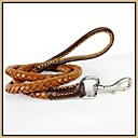 Genuine Leather Hand-Braided Leash for Pets Dogs