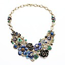 Buy Statement Necklaces Crystal / Alloy Resin Rhinestone Wedding Party Daily Jewelry