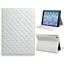 Soft Grid Pattern Protective PU Leather Full Body Case with TPU Back Case and Stand for iPad Air (Assorted Colors)
