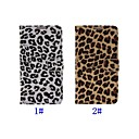 Leopard Pattern Full Body Leather Case with Stand for Samsung Note3 N9000