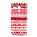 Pink Flower Tribal Carpet Pattern Plastic Hard Case for Motorala Moto G