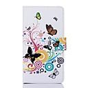 Farverige sommerfugl mønster PU Læder Full Body Taske med Card Slot til Sony T2