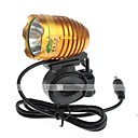 Buy Headlamps / Bike Lights Front Light LED Cree XM-L T6 Cycling Waterproof Rechargeable Impact Resistant 18650 1000 Lumens Battery
