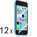 [12-Pack] Premium High Definition Clear Screen Protectors for iPhone 5C