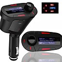 Car Kit MP3 Player FM Transmitter LCD Backlight Display Remote Control USB SD MMC Slot