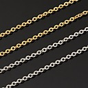 Buy Necklace Chain Necklaces Jewelry Wedding / Party Daily Casual Fashion Platinum Plated Gold Silver 1pc Gift