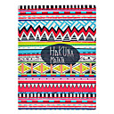 Tribal Carpet Hakuna Matata Pattern PU Leather Full Body Case with Stand for iPad 2/3/4