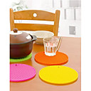 Coasters silicone Forma Round (colori assortiti)