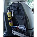 asiento trasero de almacenamiento de bolsillo de múltiples con funda protectora a prueba de polvo