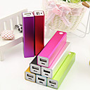 Cuboid Design Power Bank for iphone 6/6 plus/5/5S/Samsung S4/S5/Note2(2600mAh)