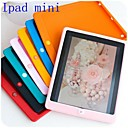 Solid Color Silicone Back Case for iPad mini 3, iPad mini 2, iPad mini (Assorted Color)