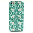 Flower Elephant Carpet Pattern Hard Case for iPhone 5/5S