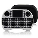 iPazzPort KP-810-21 2.4G Wireless 92 Tasten Tastatur mit Touchpad für Google TV-Box / ps3 / pc