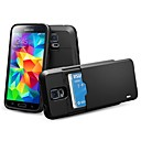 High Quality PC Hard Case with Card Holder for Samsung Galaxy S5 i9600(Assorted Color)