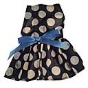 mode petite robe de princesse dos pour chien (grandeurs assorties)