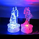 Dance Lovers Design Plastic Night Light(Random Color x1pcs)
