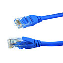 Blue Cat6 Male to Cat6 Male Cable for Computer 1M 3.2FT