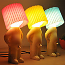 2st blyg pojke designen varmvit ledde bordslampa (blandade färger)