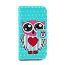 Lover Heart Owl  Full Body Case with Card Holder for LG L90