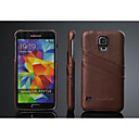 Fashion® Luxury Genuine Leather Back Cover Case for Samsung Galaxy S5 I9600
