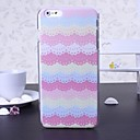 Beauty Lace Pattern Plastic Hard Cover for iPhone 6 Plus(Assorted Colors)