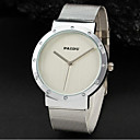 Men's Watch Dress Watch Round Simple Style Woven Metal Band Cool Watch Unique Watch