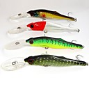 14cm 44g Floating Suspending Trolling Minnows Fishing Lures(4 pcs/ Assorted Colors)
