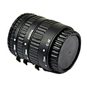 autofokus makro forlængerrør til Canon EOS ef EF-S med aluminium bagt sort lak mount