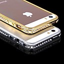 Buy DSB® Luxury Crystal Rhinestone Diamond Bling Metal Bumper Case iPhone 5/5S (Assorted Colors)