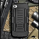Strap Clamp Drop Resistance Armor Protective Jacket with Stand and Clip for iPhone 5C